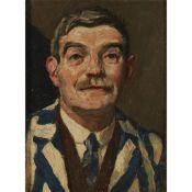 WILLIAM STRANG R.A., R.P.E. (SCOTTISH 1859-1921) SELF-PORTRAIT - 1914