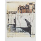 CHRISTO AND JEANNE-CLAUDE (AMERICAN 1939-2020) PONT NEUF