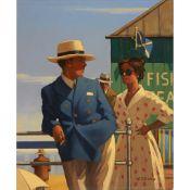 § JACK VETTRIANO (SCOTTISH B.1951) FISH TEAS