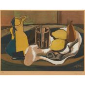 § GEORGES BRAQUE (FRENCH 1882-1963), AFTER STILL-LIFE WITH TWO LEMONS AND A PIPE