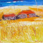 § ? John Lowrie Morrison (Jolomo) O.B.E. (Scottish 1948-) WEE BARNS, ACHATENY - ARDNAMURCHAN