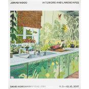 JONAS WOOD (AMERICAN B.1977) JUNGLE KITCHEN - 2017