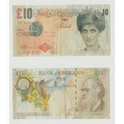 § BANKSY (BRITISH B.1974) TWO DI-FACED TENNERS