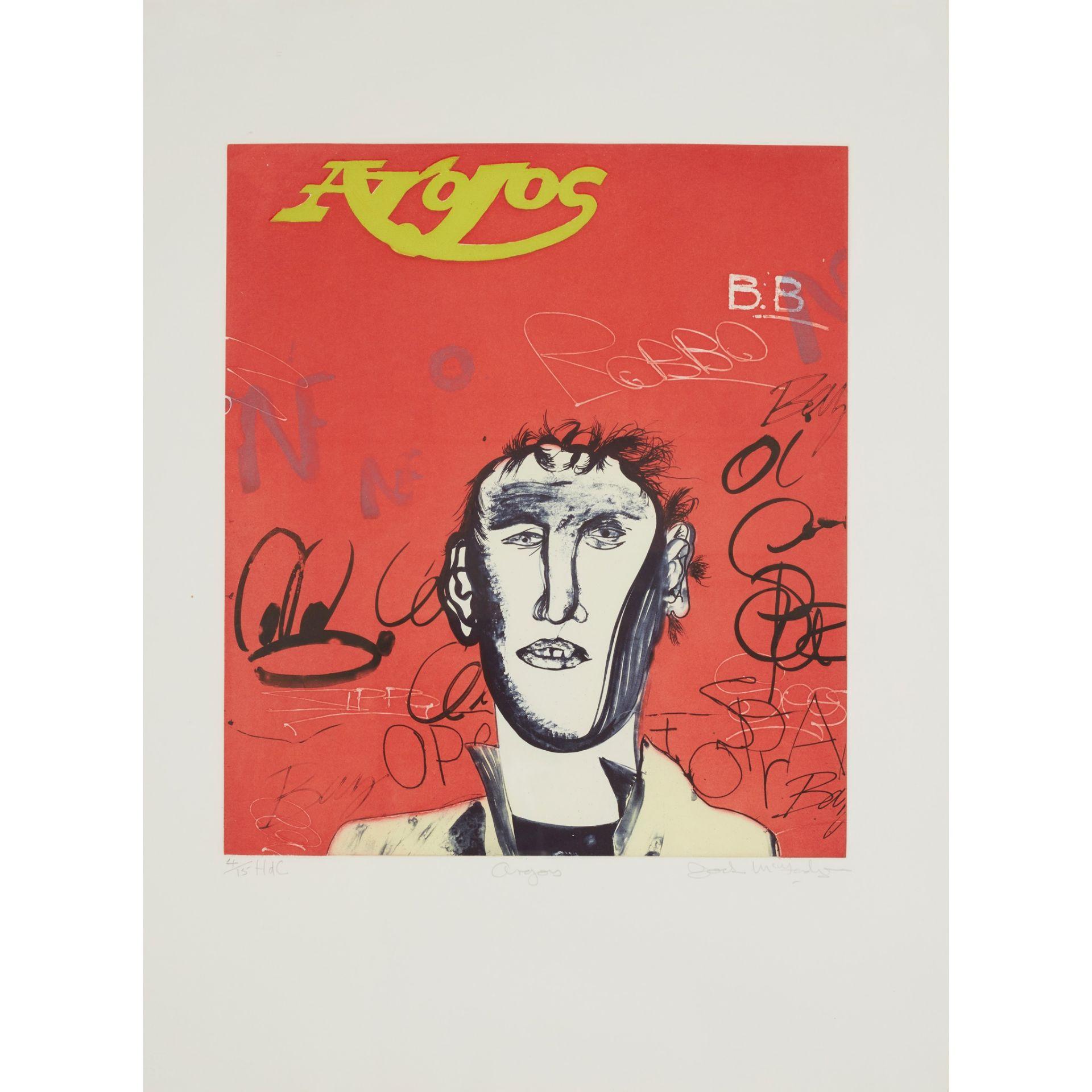 § JOCK MCFADYEN (SCOTTISH B.1950) ARGOS - 1991