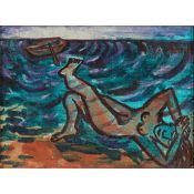 § EILEEN COOPER O.B.E., R.A. (SCOTTISH B.1953) SHIPWRECK