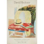 § DAVID HOCKNEY O.M., C.H., R.A. (BRITISH B.1937) DAVID HOCKNEY (GREY ART GALLERY) - 1980