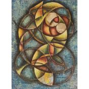 § FRANK SULLY (BRITISH 1898-1992) RAVELLED FORMS