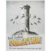 § BANKSY (BRITISH B.1974) VISIT HISTORIC PALESTINE