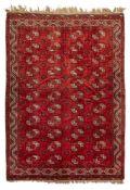 ERSARI KIZIL AYAK CARPET TURKMENISTAN, EARLY 20TH CENTURY