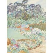 § BEATRICE E PARSONS (BRITISH 1870-1955) FIR TOPS, OXLEY