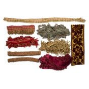 LARGE QUANTITY OF PASSIMENTERIE 19TH/ EARLY 20TH CENTURY