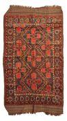 BESHIR CARPET TURKMENISTAN, LATE 19TH/EARLY 20TH CENTURY
