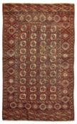 TEKKE CARPET TURKMENISTAN, LATE 19TH/EARLY 20TH CENTURY