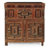 JACOBEAN OAK CHEST OF DRAWERS EARLY 17TH CENTURY AND LATER
