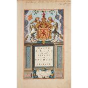 Blaeu, Joan Guilliemius Theatrum Orbis Terrarum [Nuevo Atlas de los Reynos de Escocia e Yrlanda]: