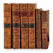3 works in 6 volumes, comprising Chaufepié, Jacques George de Nouveau Dictionnaire Historique et