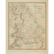 Cary, John Cary's New Map of England and Wales with part of Scotland