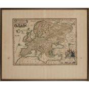 Janssonius, after Abraham Ortelius Europam sive Celticam Veterem