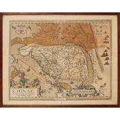 Ortelius, Abraham Chinae, olim Sinarum regionis, nuova descriptio