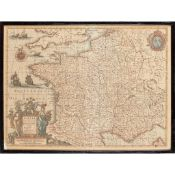 Hondius, Henricus, and others A Collection of French Maps