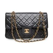 A classic double flap bag, Chanel