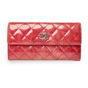 A Brilliant Line long snap wallet, Chanel