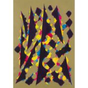 § WILLIAM GEAR R.A., F.R.S.A., R.B.S.A. (SCOTTISH 1915-1997) CAROUSEL
