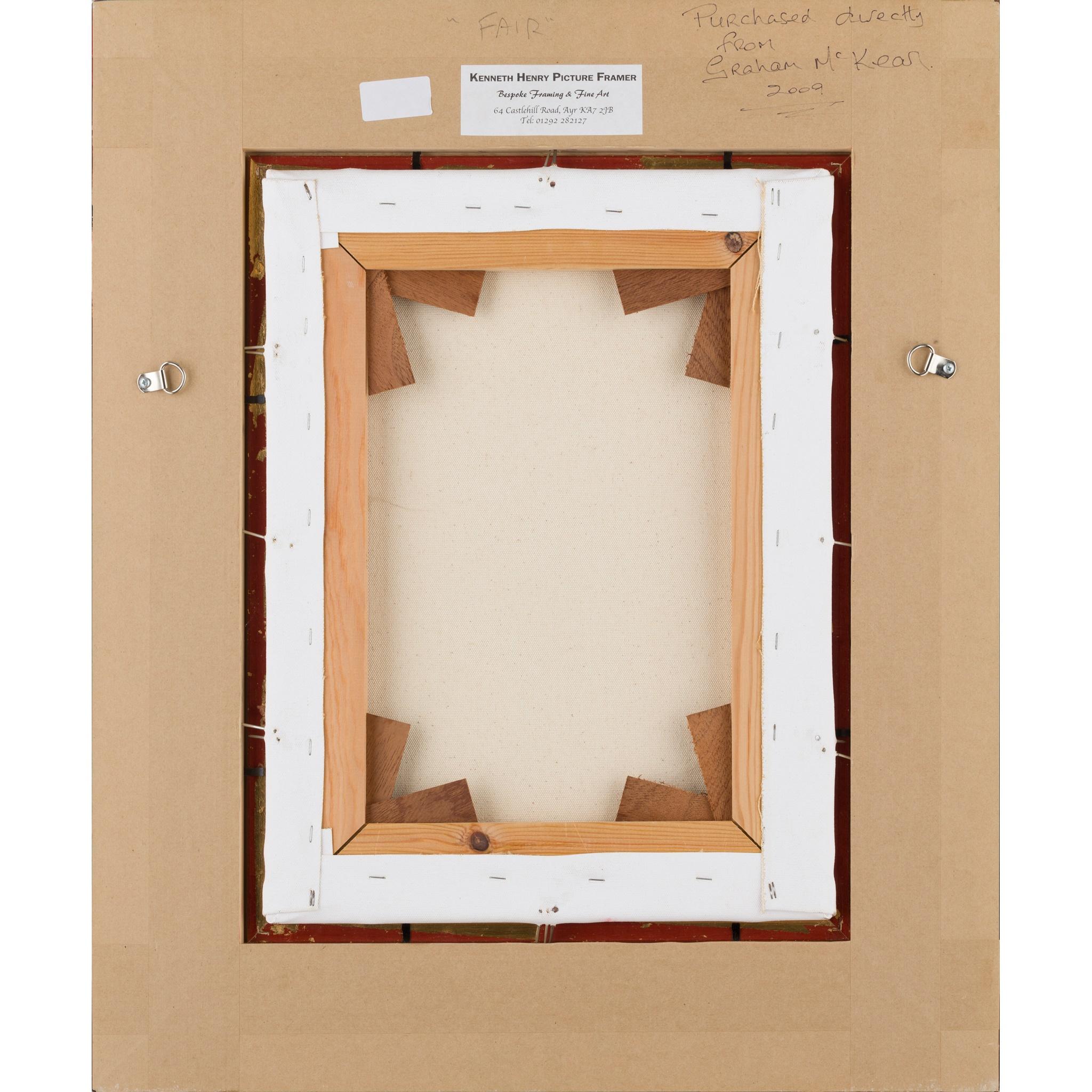 § GRAHAM MCKEAN (SCOTTISH B.1962) FAIR - Image 3 of 3