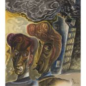 § JOHN BYRNE (SCOTTISH B.1940) TWO BUDDIES