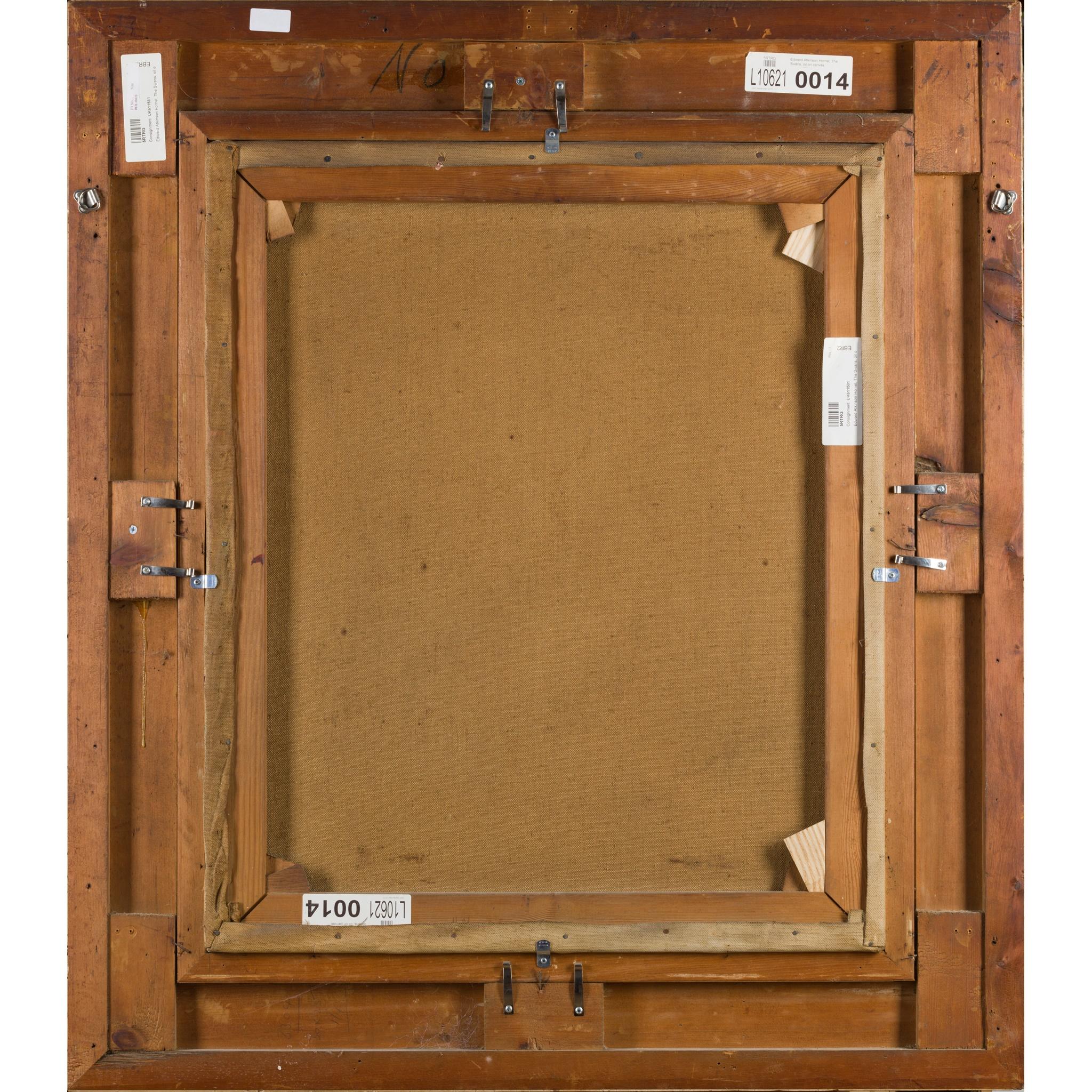 EDWARD ATKINSON HORNEL (SCOTTISH 1864-1933) SWAN LAKE - Image 3 of 3