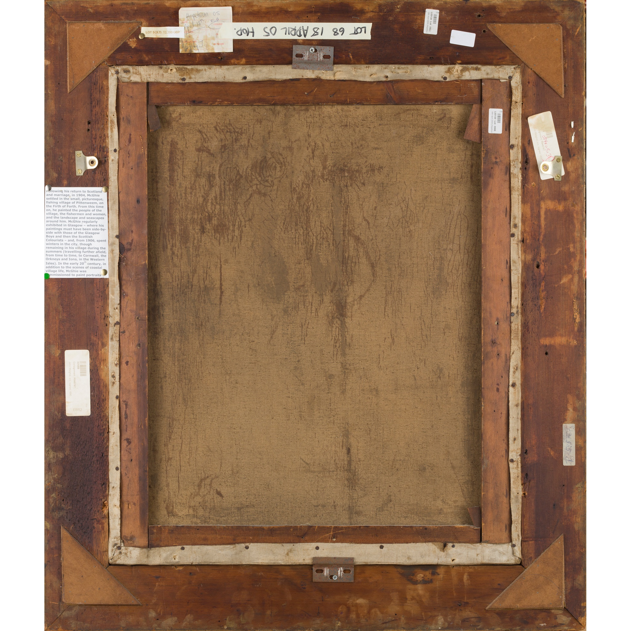§ JOHN MCGHIE (SCOTTISH 1867-1952) WASH DAY - Image 3 of 3