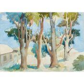 § WILLIAM CROSBIE R.S.A. (SCOTTISH 1915-1999) TREES