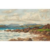 ANDREW HISLOP (BRITISH FL.1880-1903) LOOKING OVER TO MILLPORT FROM PORTENCROSS