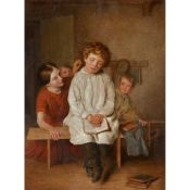 FOLLOWER OF THOMAS WEBSTER ASLEEP IN THE CLASSROOM