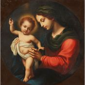 AFTER CARLO DOLCI (ITALIAN 1616-1686) MADONNA AND CHILD