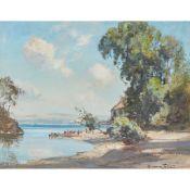 J.A. HENDERSON TARBET (SCOTTISH C.1865-1937) CRAMOND FERRY