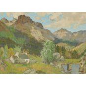 JAMES WRIGHT R.S.W. (SCOTTISH 1885-1947) OFF THE BEATEN PATH