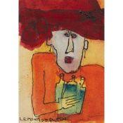 § PATRICIA DOUTHWAITE (SCOTTISH 1939-2002) LEMONADE QUEEN