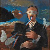 § FRANK DOCHERTY (SCOTTISH 1942-) THE ILLUSIONIST