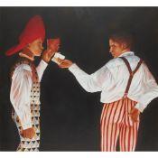 § ALAN KING (SCOTTISH 1946-2003) INVITATION TO NARCISSUS, 1997