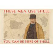 John Armstrong (1893-1973) Farmers use Shell