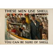 Charles Mozley (1914–1991) Sightseers use Shell