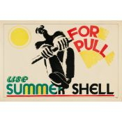 Edward McKnight Kauffer (British 1890-1954) Use Summer Shell for Pull