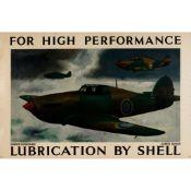 Robert Buhler (1916-1989) FOR HIGH PERFORMANCE, HAWKER HURRICANES