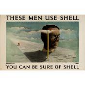 Zero (Hans Schleger, 1898-1976) Journalists Use Shell