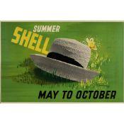 Edward McKnight Kauffer (1890-1954) May to October - Summer Shell
