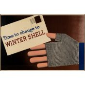 Tom Eckersley (1914-1997) and Eric Lombers (1914-1978) Time to Change to Winter Shell