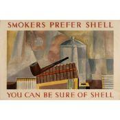 Charles Green Shaw (1892-1974) Smokers Prefer Shell