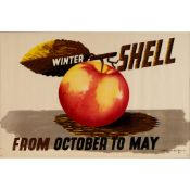 Edward McKnight Kauffer (1890-1954) Winter Shell (Apple)