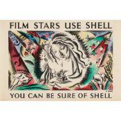 Cathleen Sabine Mann (1896–1959) Film Stars use Shell